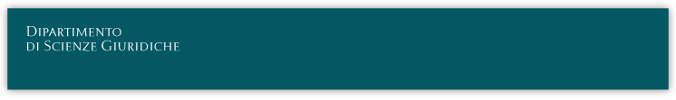 SAPIENZA - Dipartimento di Scienze Giuridiche
