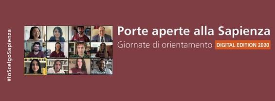 Le giornate di orientamento - Porte aperte alla Sapienza (XXIV edizione)